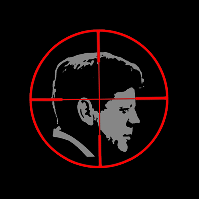 JFK Reloaded logo.