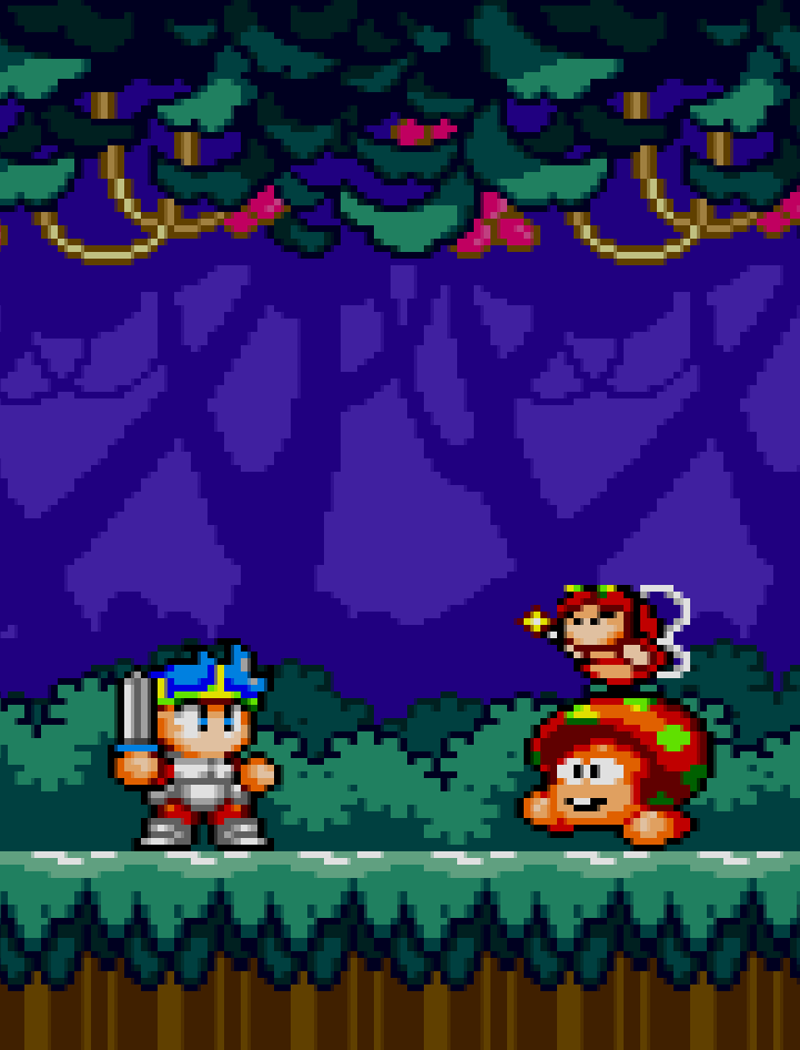 Wonder Boy In Monster World fairy bastards