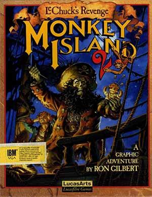 Monkey Island 2's cover art.