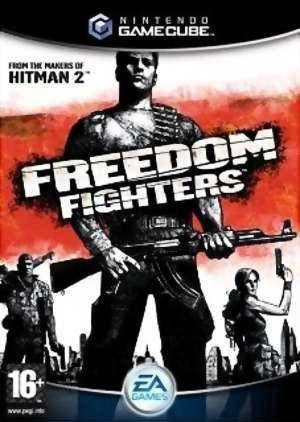 Box art for Freedom Fighters.