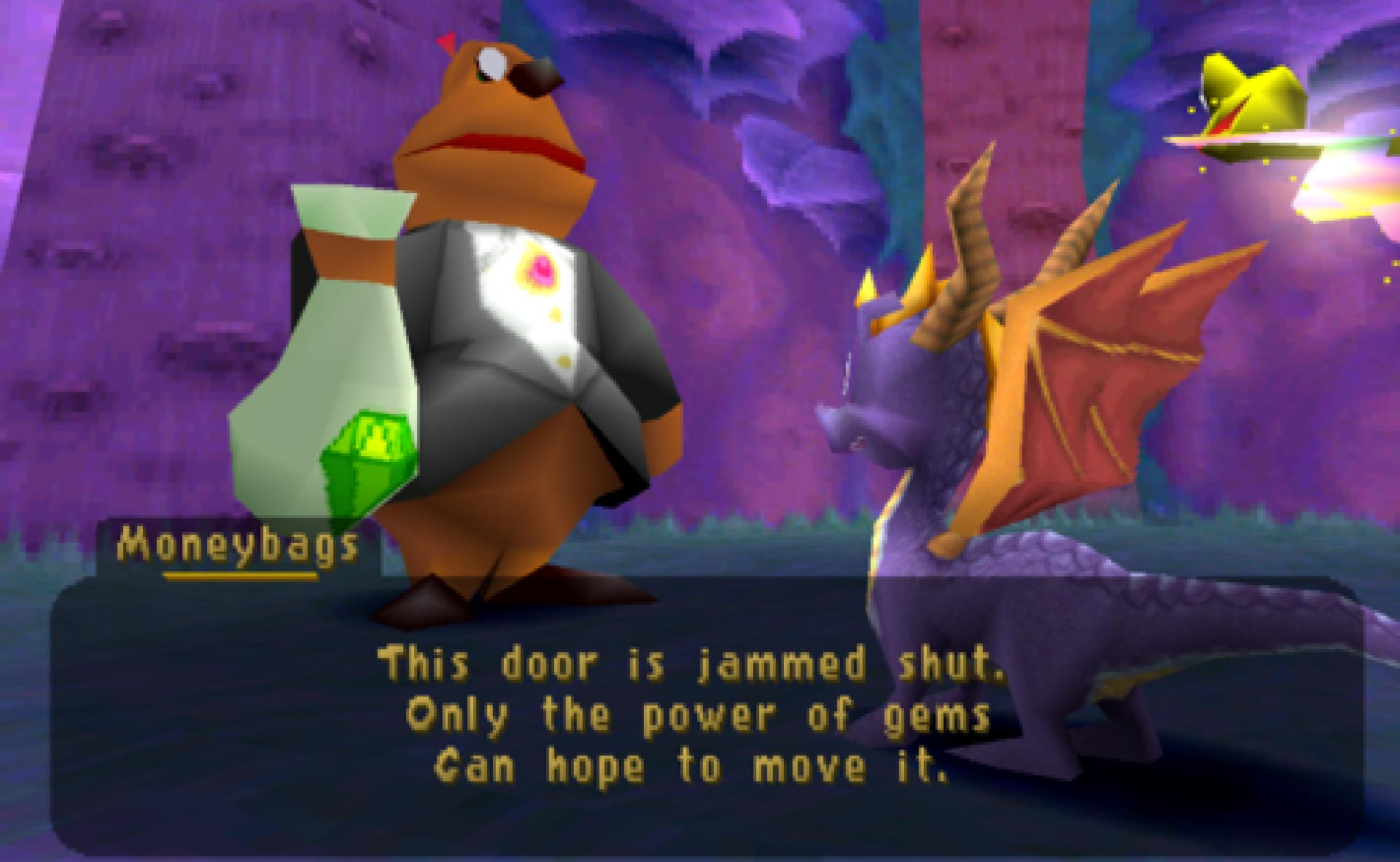 Moneybags in Spyro: Year of the Dragon.