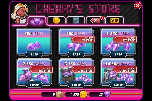 Micro Machines (mobile) - Shop 2