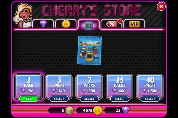 Micro Machines (mobile) - Shop 4