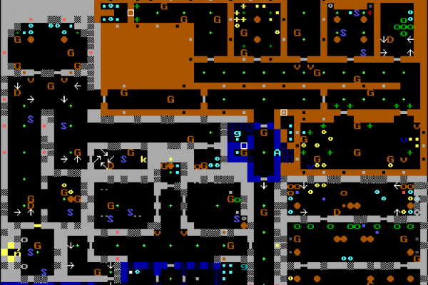 Wolfenstein 3D - E102 map (large)