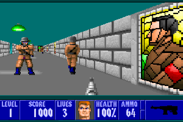 Wolfenstein 3D - In-game shot 2 (large)