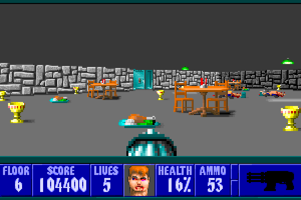Wolfenstein 3D - In-game shot 3 (large)