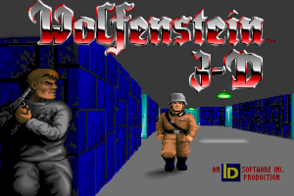 Wolfenstein 3D - In-game title (large)