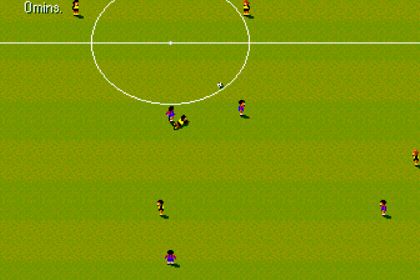 Sensible World of Soccer (European Championship Edition) - In-game - Bayern vs Dortmund 2