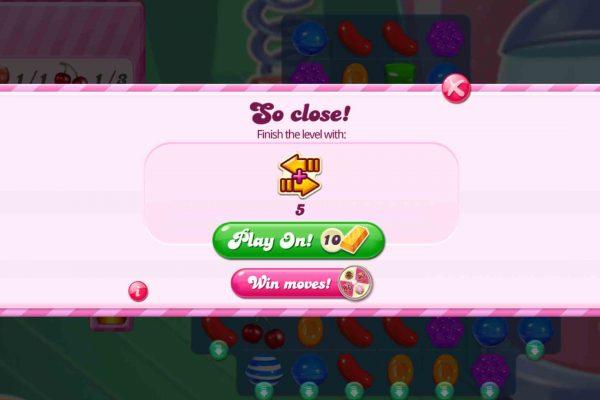 Candy Crush Saga - Game over 2