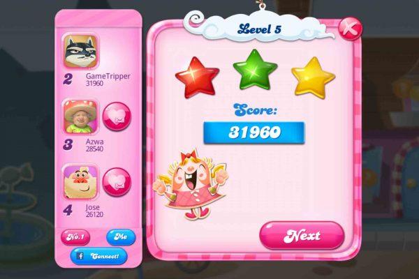 Candy Crush Saga - In-game screenshot 2