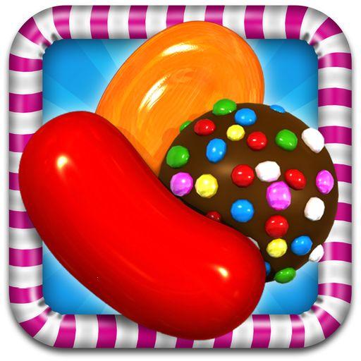 The logo for King's Candy Crush Saga (2012)