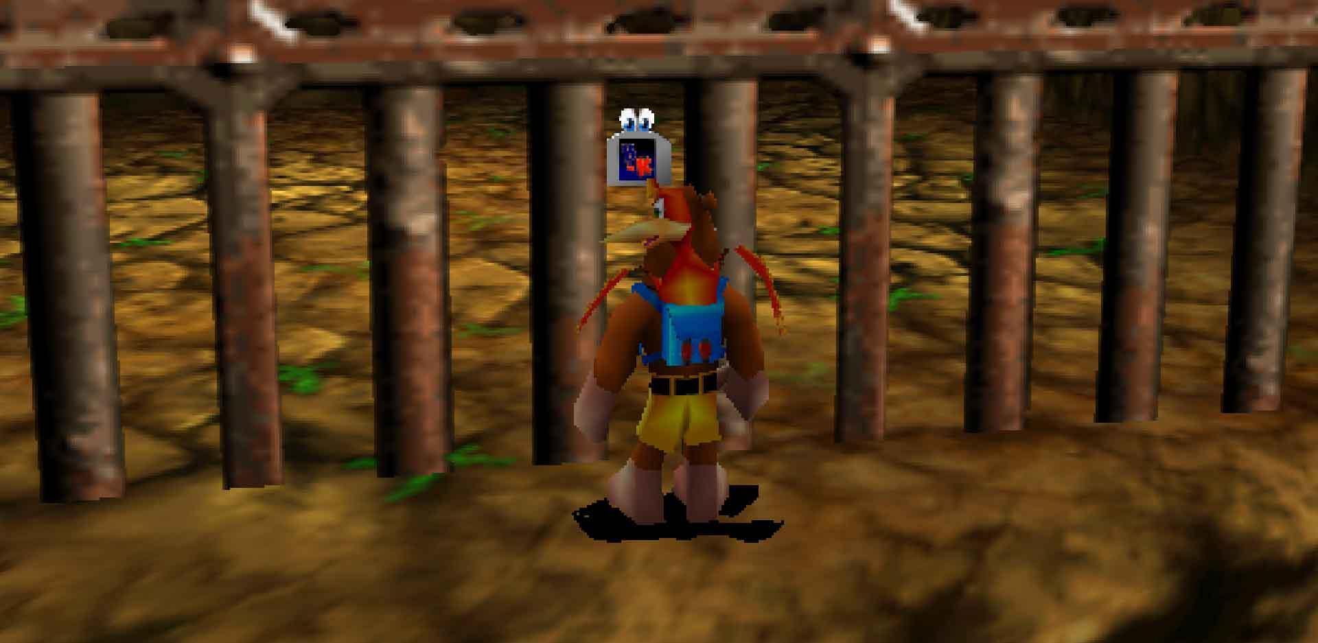 Banjo-Tooie on the N64.