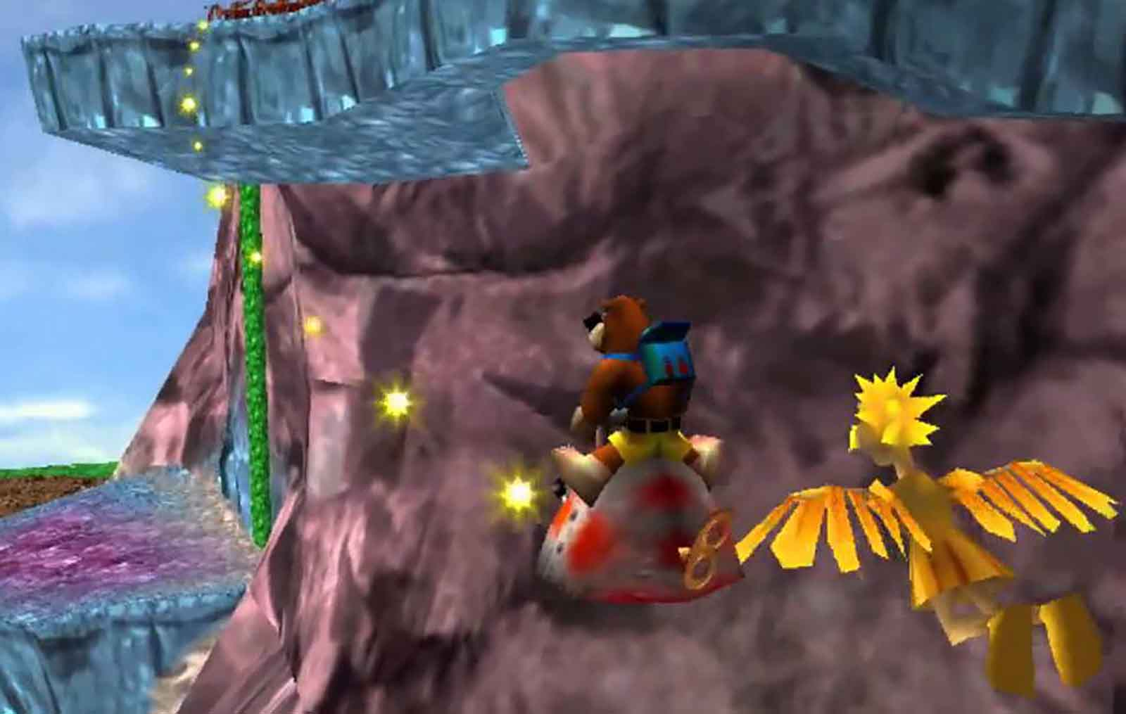 Flying and shiz in Banjo-Tooie