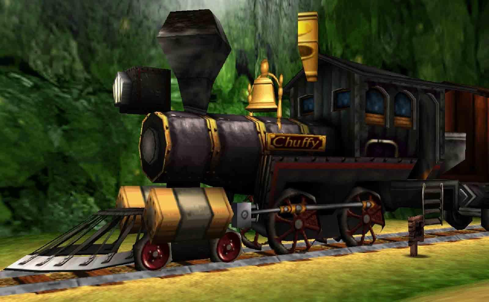 Chuffy the Train! Jesus Christ he's massive innit