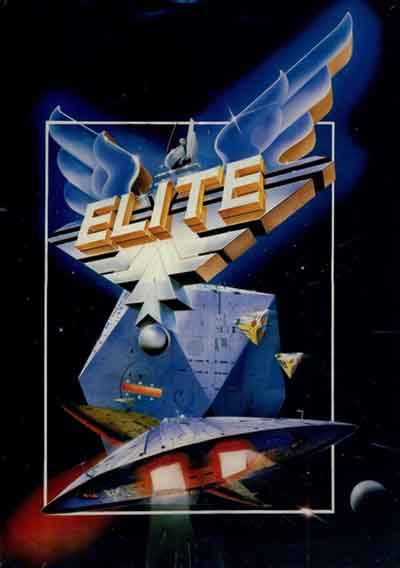 The box art to 1984's Elite.