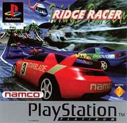 PAL cover art for Ridge Racer