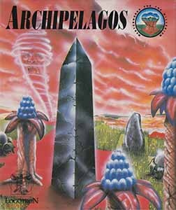The box art to the game Archipelagos on the Atari ST (with thanks to Moby Games)