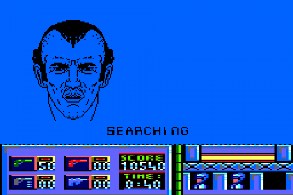 RoboCop (1987) - Amstrad CPC - Identifying the 'disceased'