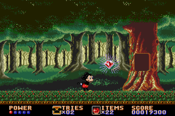 Castle of Illusion Starring Mickey Mouse - Enchanted Forest boss 3