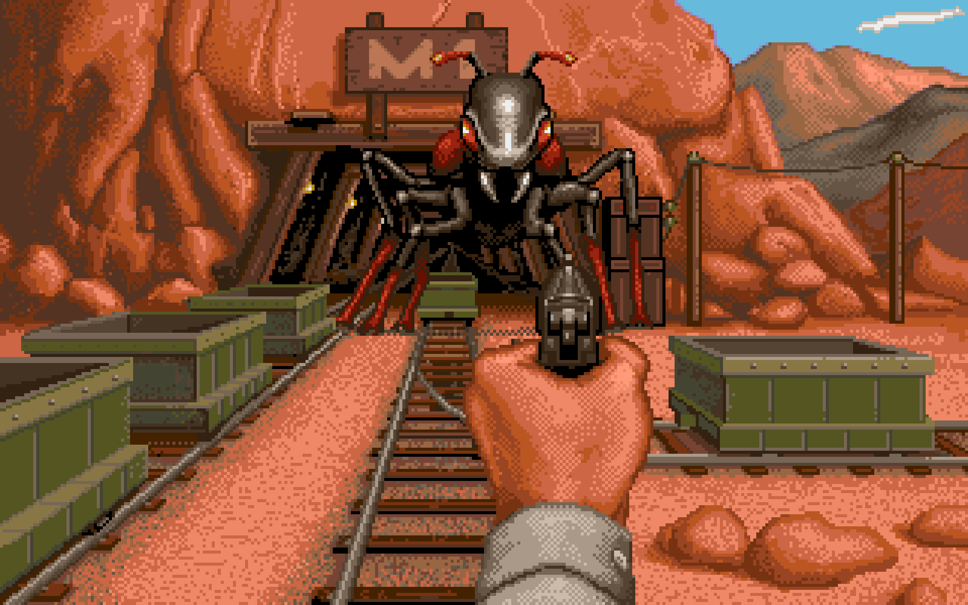 It Came From The Desert 1989 Commodore Amiga Gametripper Review
