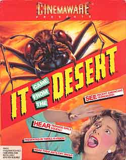 The cover for It Came from the Desert.