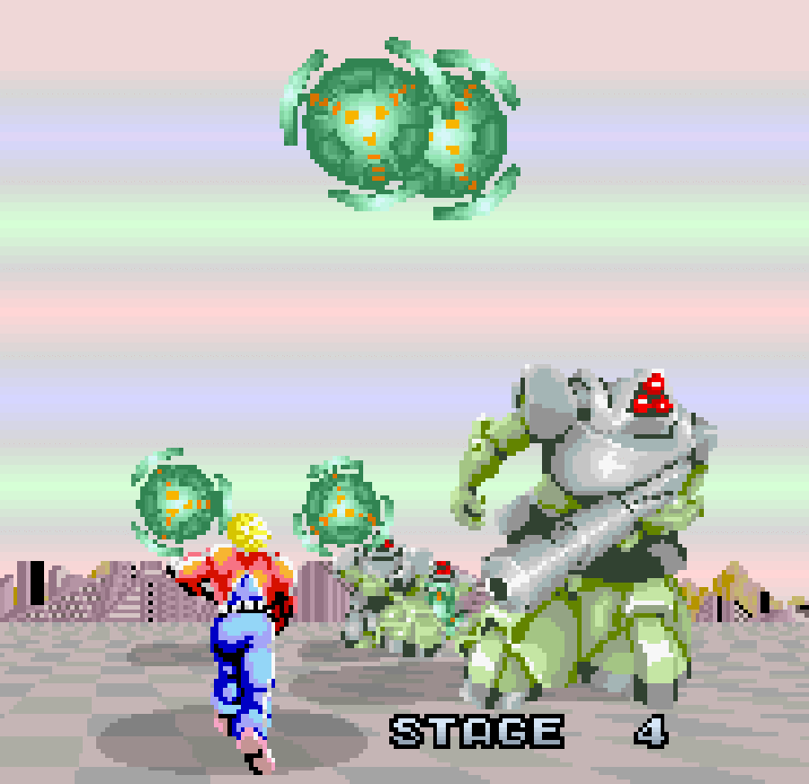 Space Harrier's fourth stage - CEICIEL.