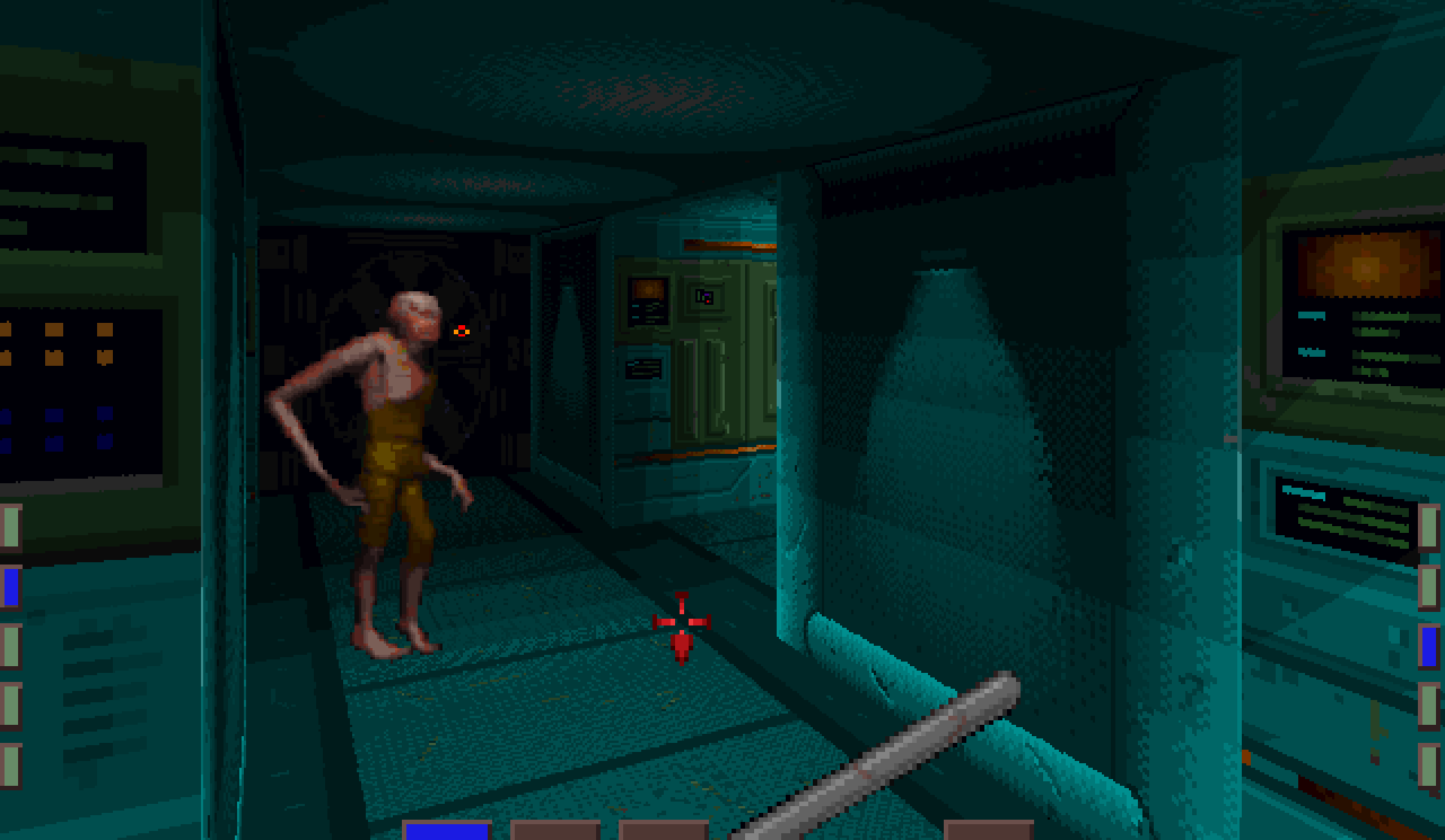A mutant from System Shock, the 1994 classic on PC - with thanks to Moby Games.