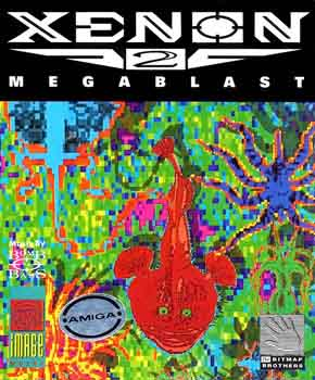The cover to Xenon 2 Megablast.