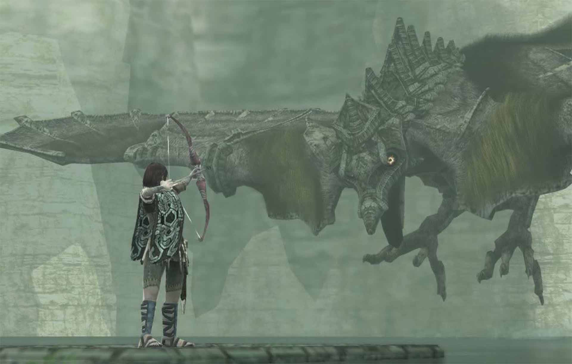 The battle with Avion in Shadow of the Colossus.