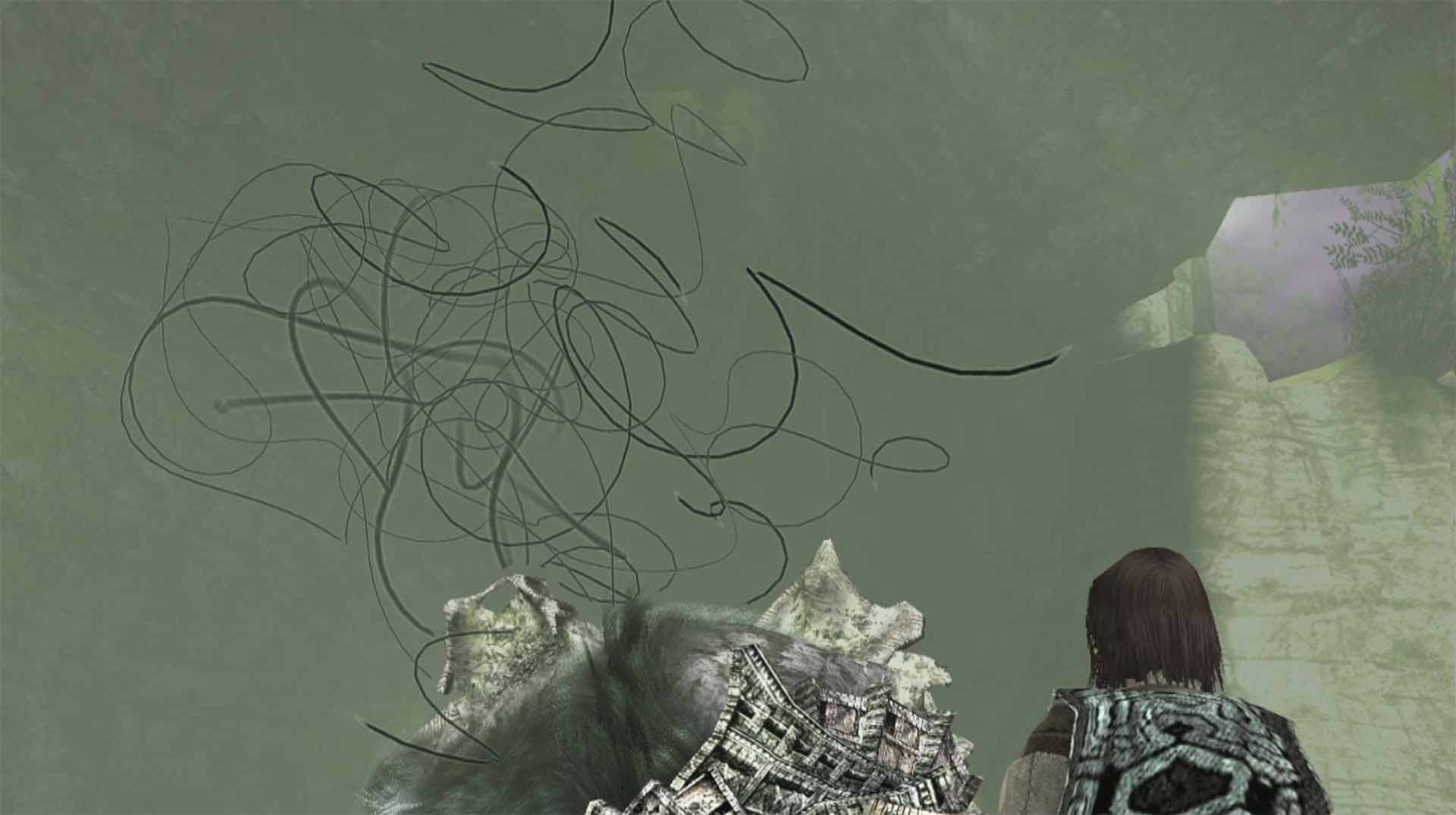 The death sequence of each Colossus in Shadow of the Colossus.