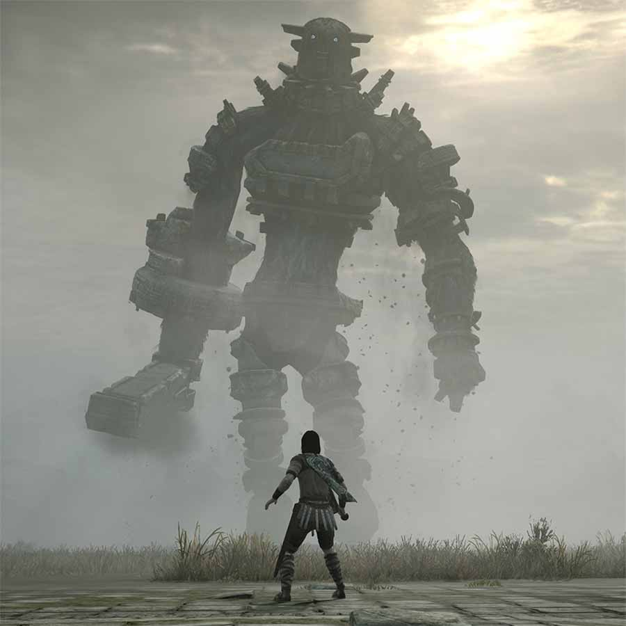 Gaius in Shadow of the Colossus.