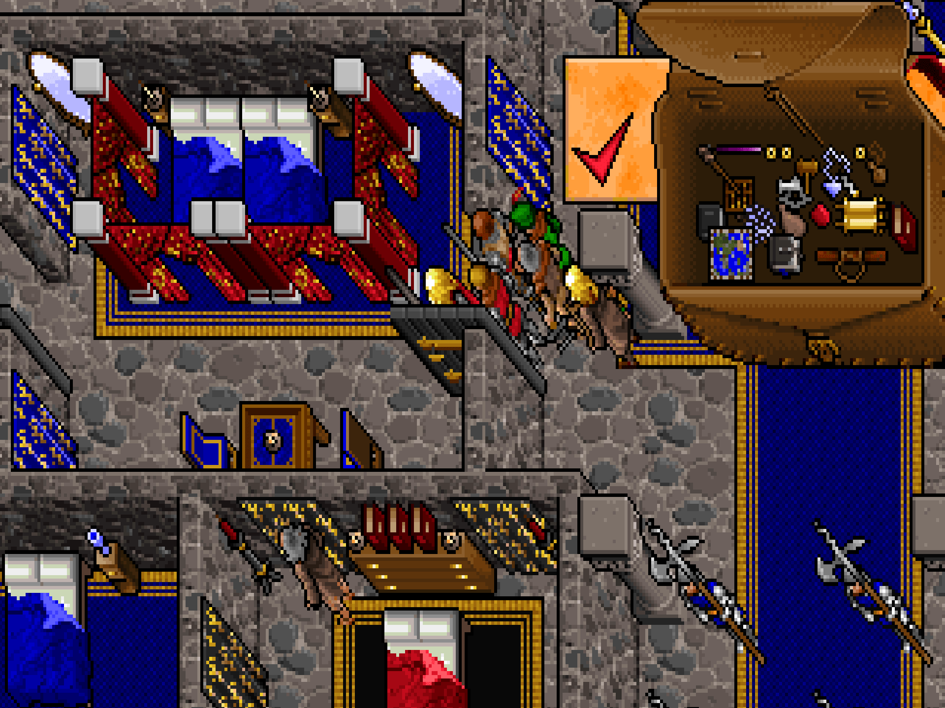 Boxes and all manner of other wonders in Ultima VII.