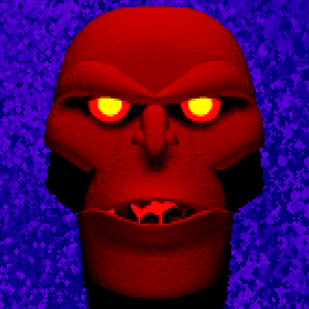 The Guardian from Ultima VII's intro.