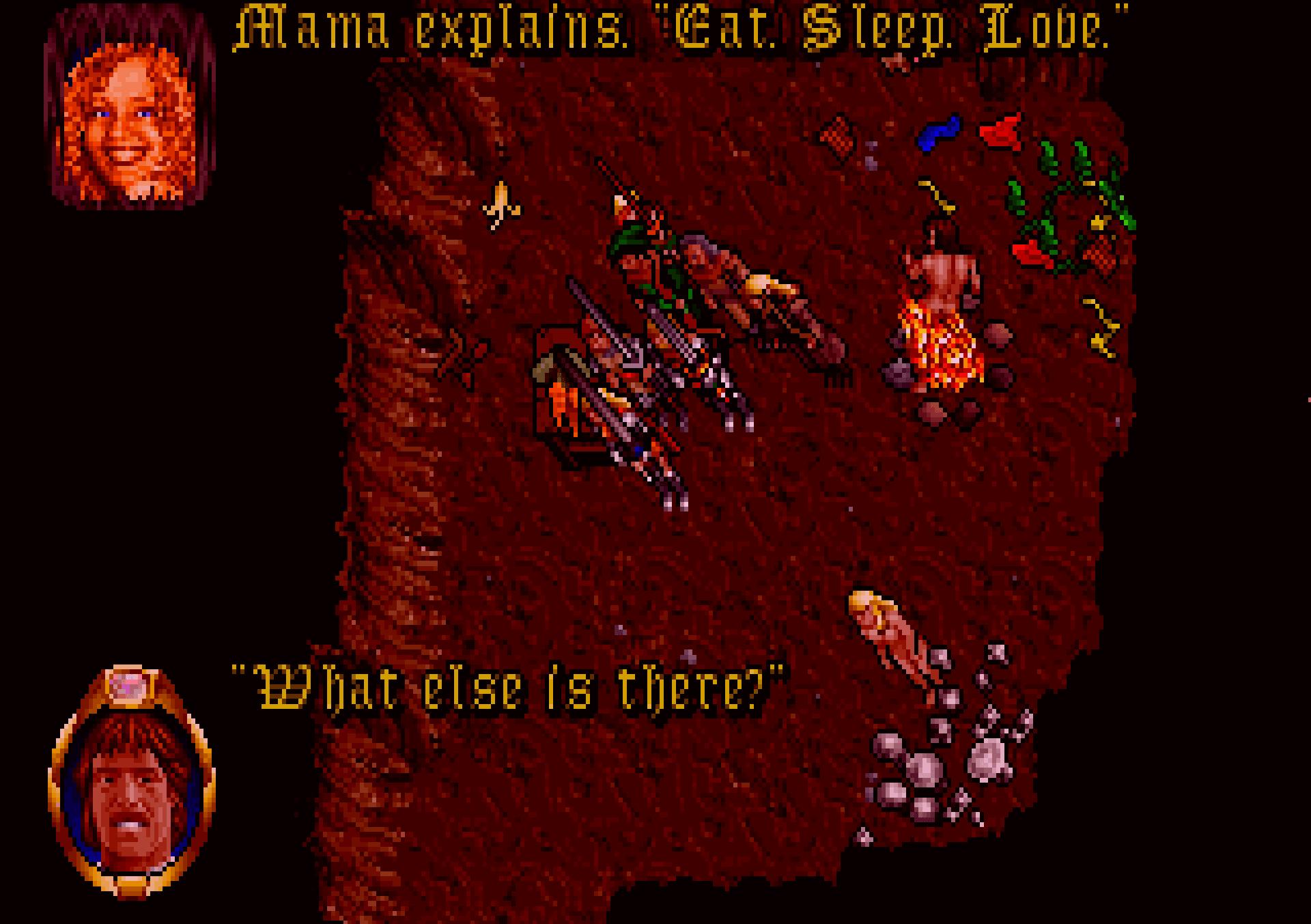 Mama in Ultima VII.