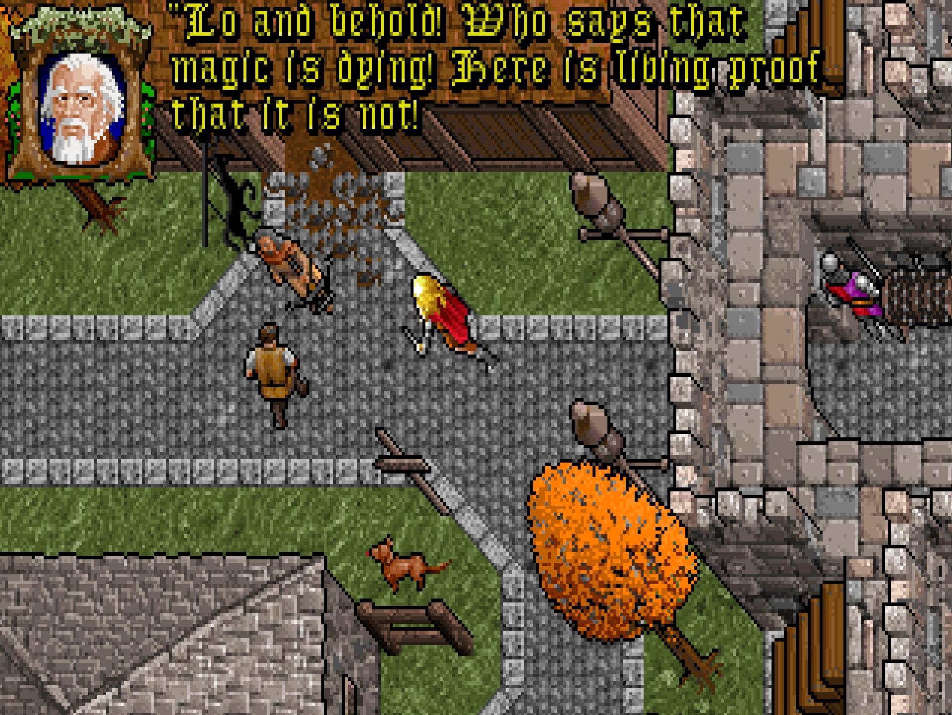 Ultima VII's visitor.