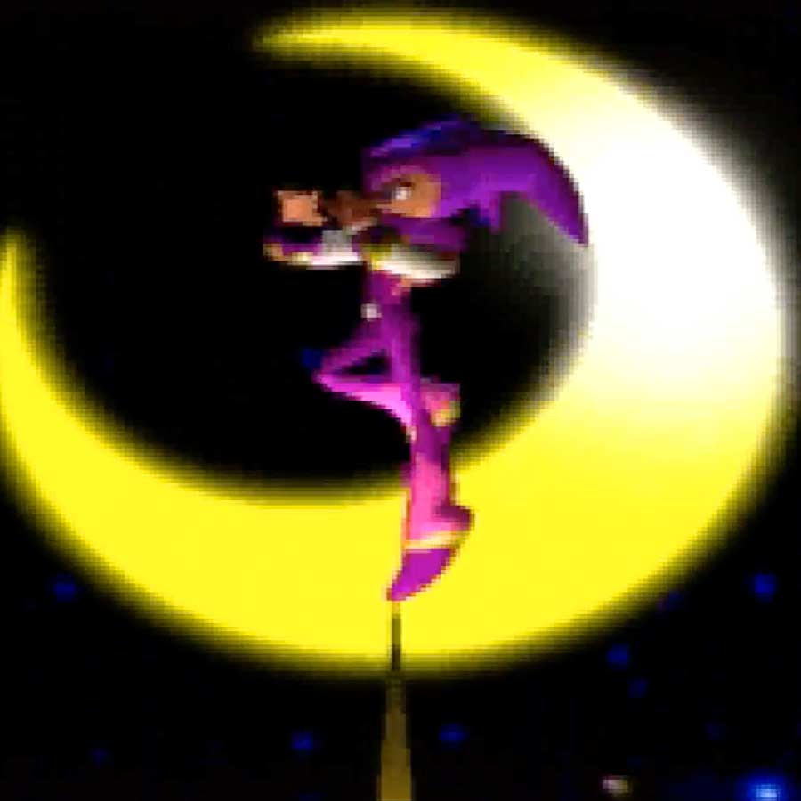 Nights into Dreams' opening segment.