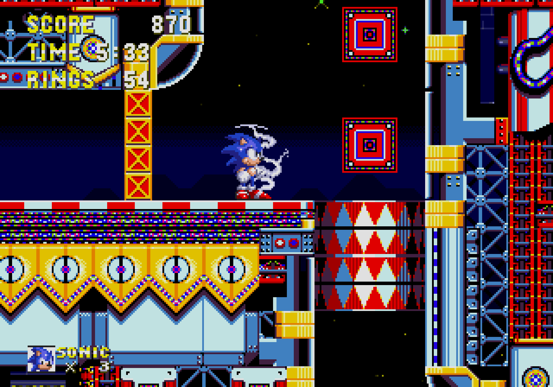 The barrel of doom in Carnival Night Zone, Act 2.