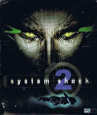 The box art of System Shock 2.