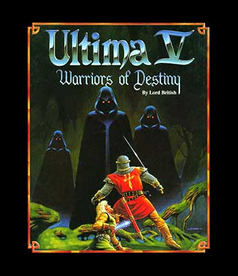 Ultima V cover art, which featured the song Stones.