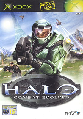 The cover art for Halo.