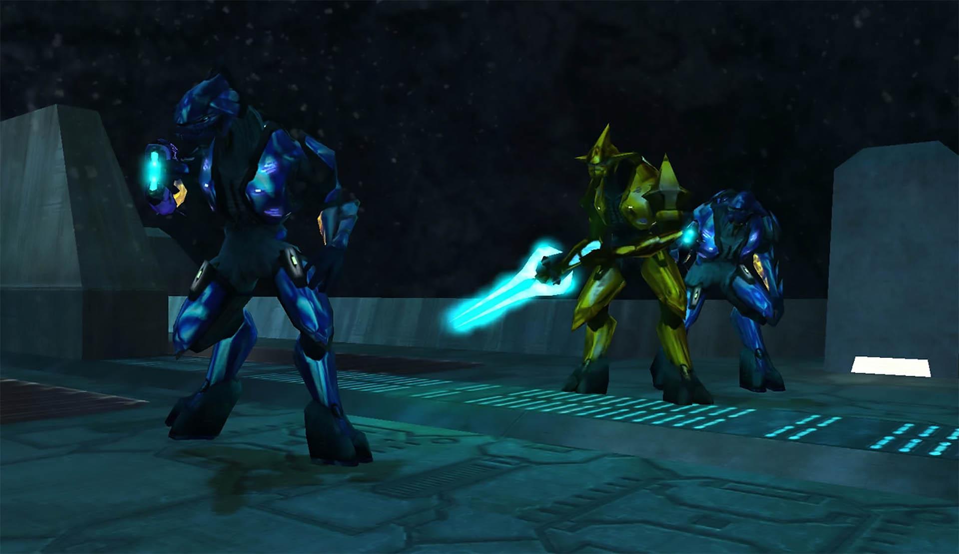 Halo's Elites.