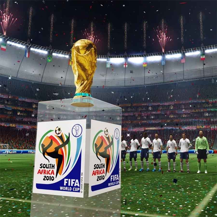 The World Cup, in 2010 FIFA World Cup South Africa.