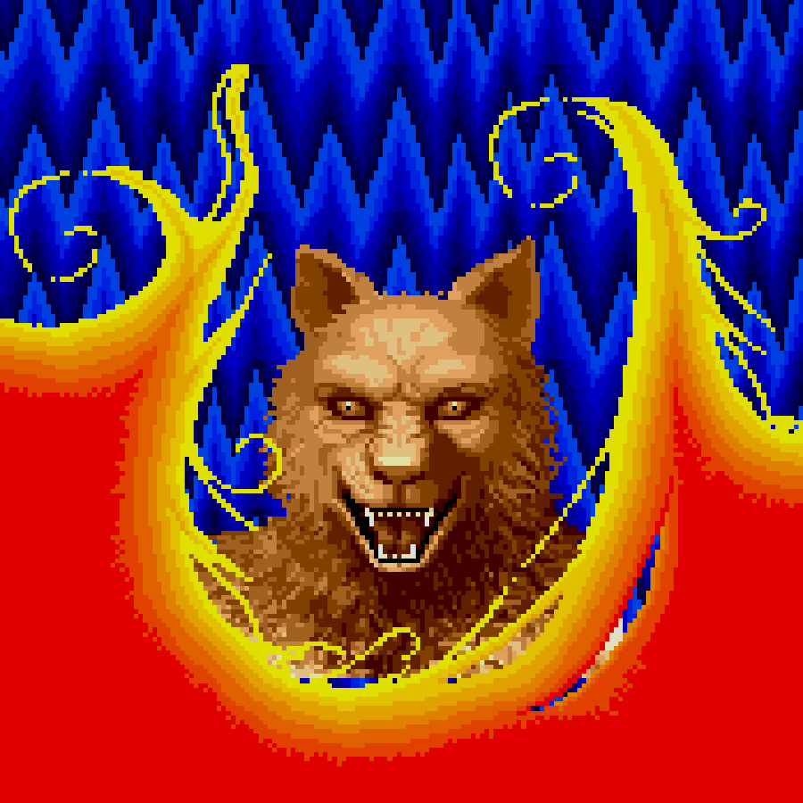 The transformation in Altered Beast.