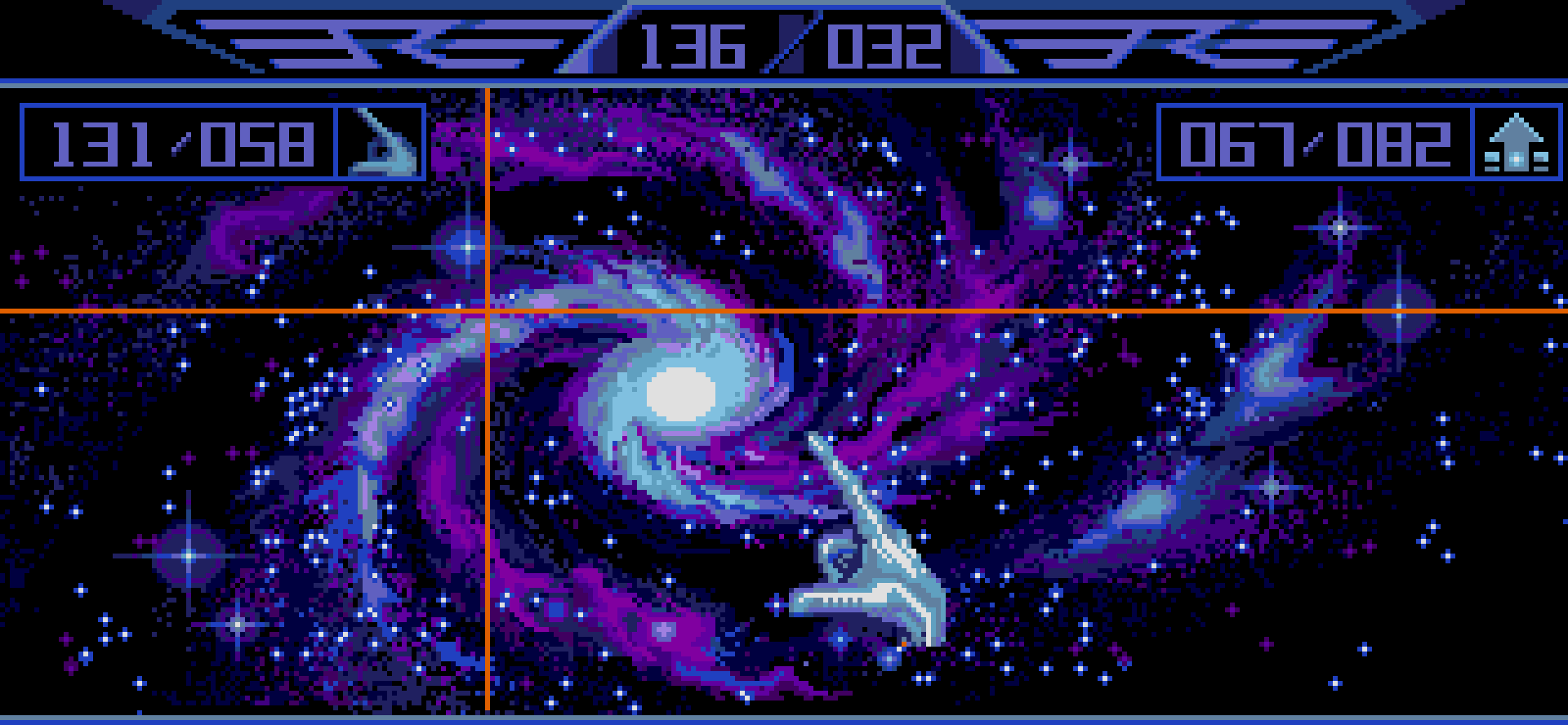 The galaxy map in Captain Blood.