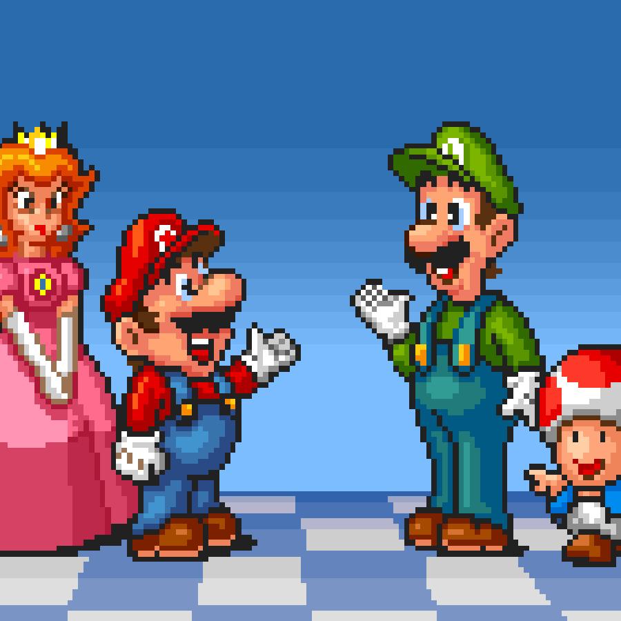 Super Mario All-Stars.