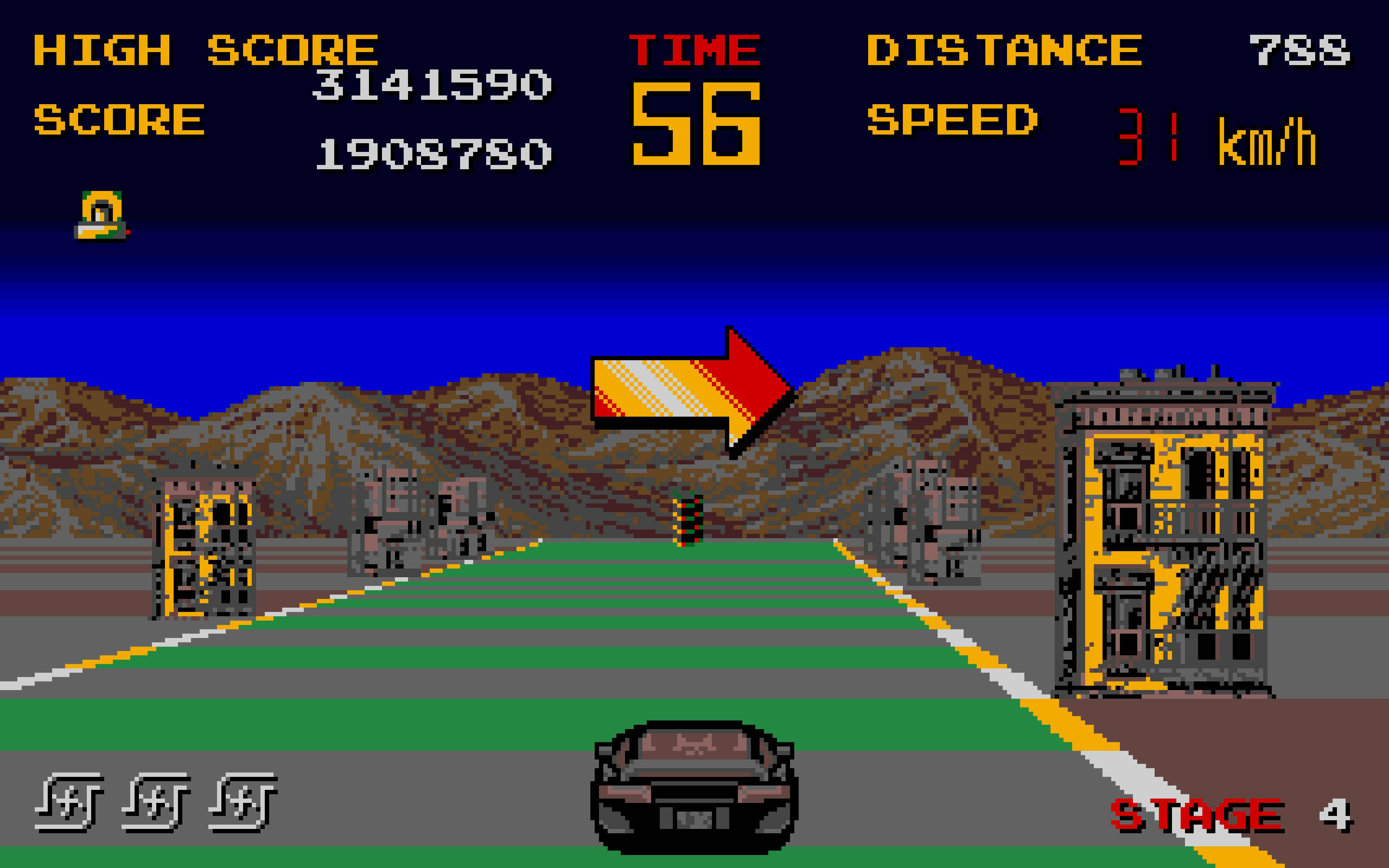 Chase HQ on the Amiga.