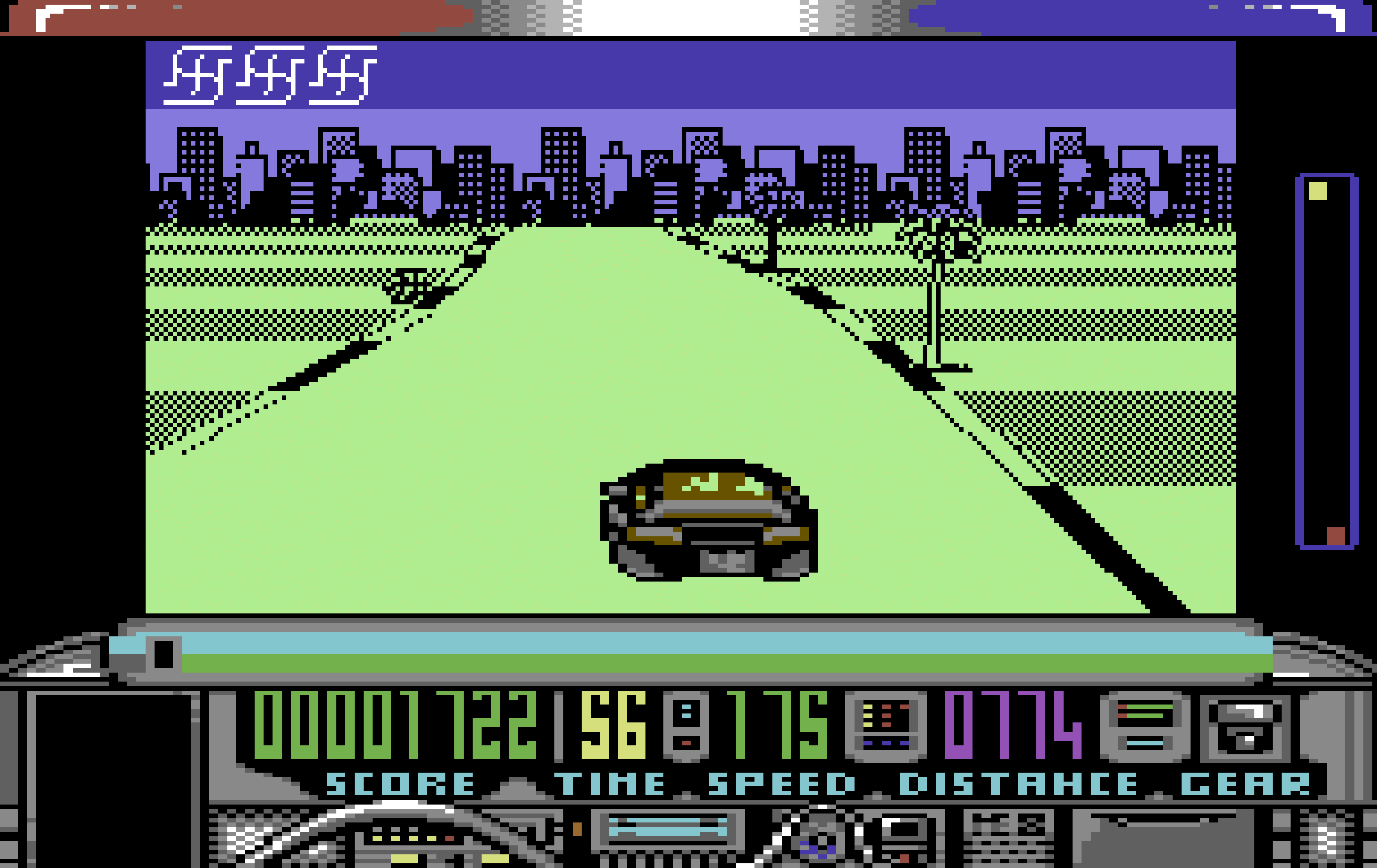 Chase HQ on the Commodore 64.