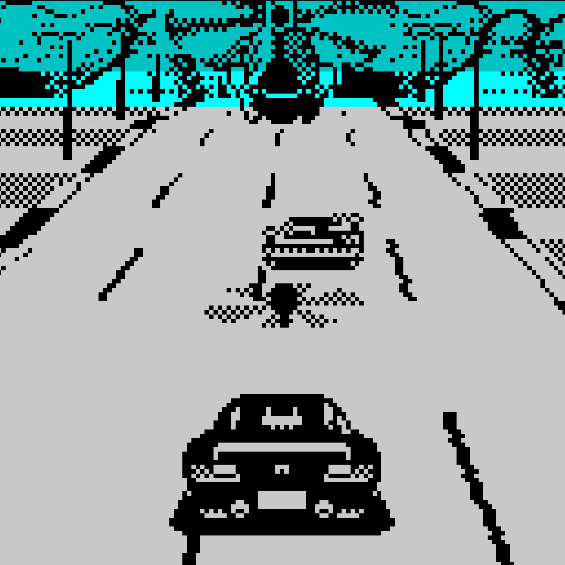 Chase HQ on the ZX Spectrum.