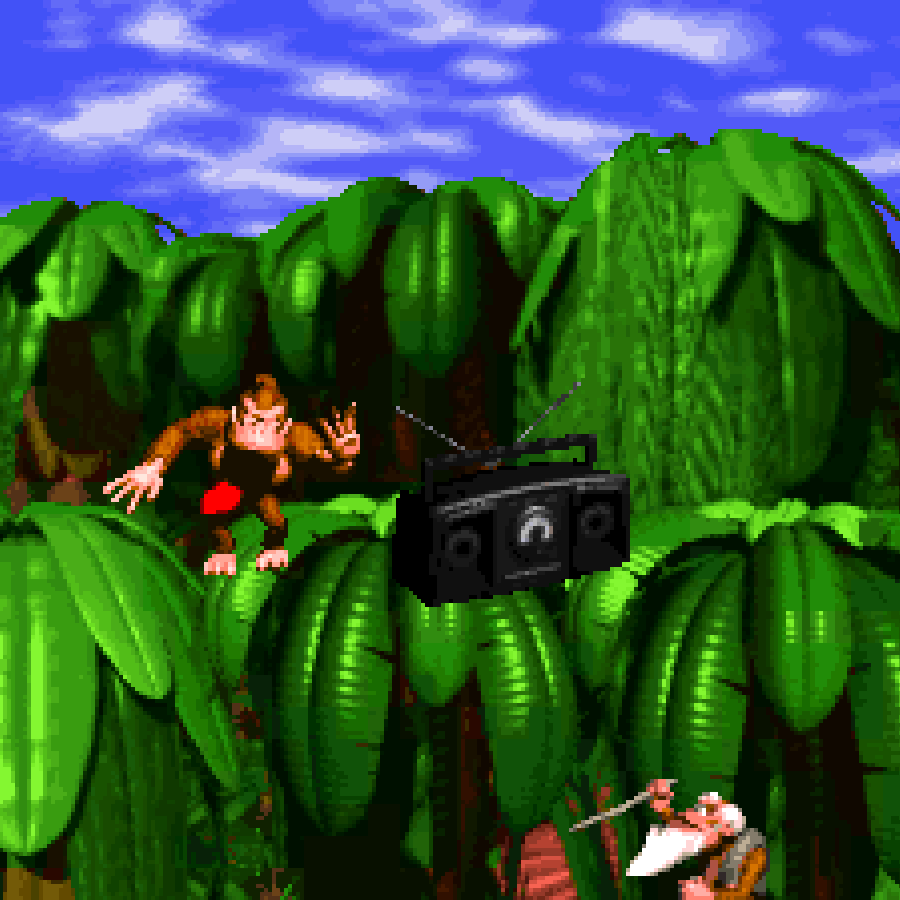 Donkey Kong Country's introduction.