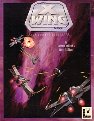 The cover art for Star Wars X-Wing.